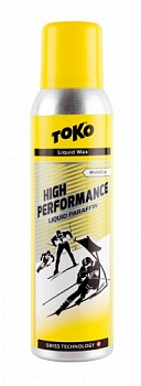 Мазь скольжения TOKO High Performance Liquid Paraffin yellow 125 мл +10C/-4C